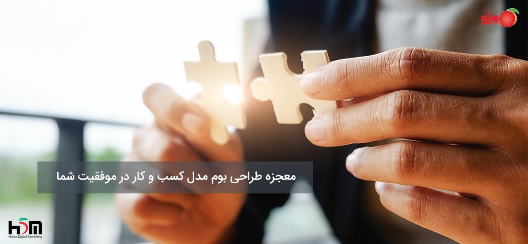 معجزه طراحی بوم مدل کسب و کار در موفقیت شما